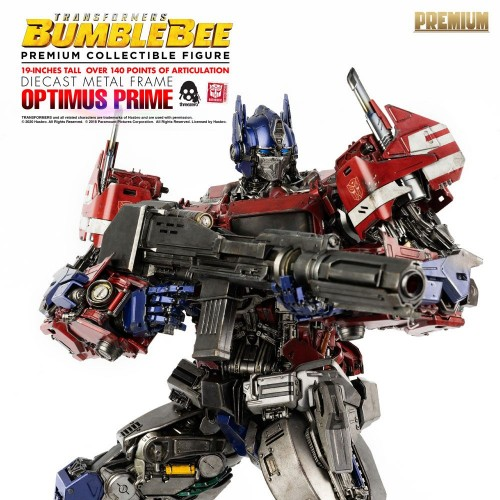 Transformers Bumblebee Premium Action Figure Optimus Prime 48 cm ThreeZero - 9