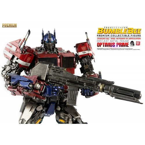 Transformers Bumblebee Premium Action Figure Optimus Prime 48 cm ThreeZero - 11