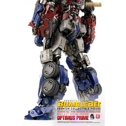 Transformers Bumblebee Premium Action Figure Optimus Prime 48 cm ThreeZero - 12