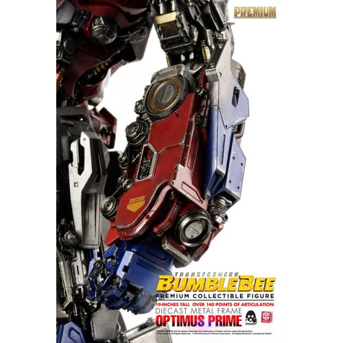 Transformers Bumblebee Premium Action Figure Optimus Prime 48 cm ThreeZero - 14