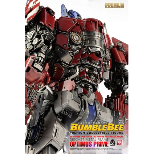 Transformers Bumblebee Premium Action Figure Optimus Prime 48 cm ThreeZero - 15