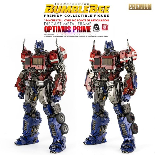 Transformers Bumblebee Premium Action Figure Optimus Prime 48 cm ThreeZero - 16