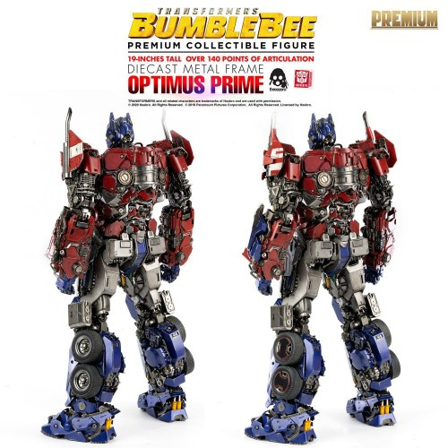 Transformers Bumblebee Premium Action Figure Optimus Prime 48 cm ThreeZero - 17