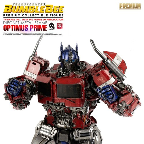 Transformers Bumblebee Premium Action Figure Optimus Prime 48 cm ThreeZero - 19