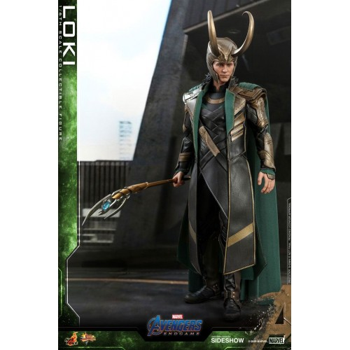 Avengers: Endgame Movie Action Figure 1/6 Loki 31 cm Hot Toys - 3