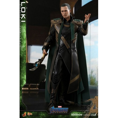 Avengers: Endgame Movie Action Figure 1/6 Loki 31 cm Hot Toys - 4
