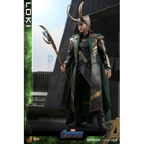 Avengers: Endgame Movie Action Figure 1/6 Loki 31 cm Hot Toys - 5