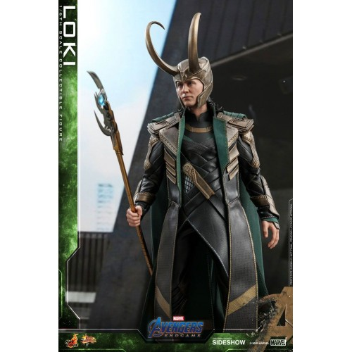 Avengers: Endgame Movie Action Figure 1/6 Loki 31 cm Hot Toys - 6
