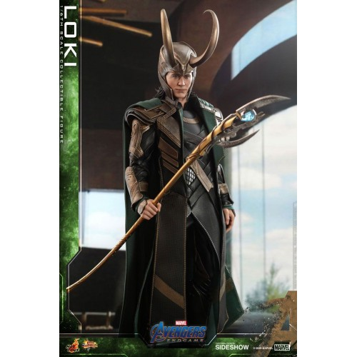 Avengers: Endgame Movie Action Figure 1/6 Loki 31 cm Hot Toys - 7
