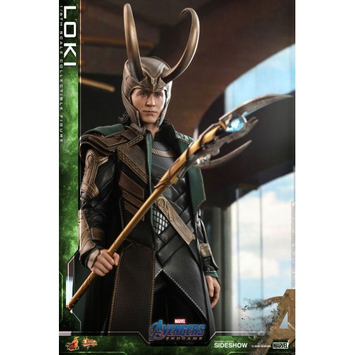 Avengers: Endgame Movie Action Figure 1/6 Loki 31 cm Hot Toys - 8