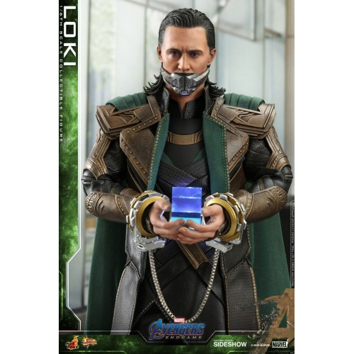 Avengers: Endgame Movie Action Figure 1/6 Loki 31 cm Hot Toys - 9