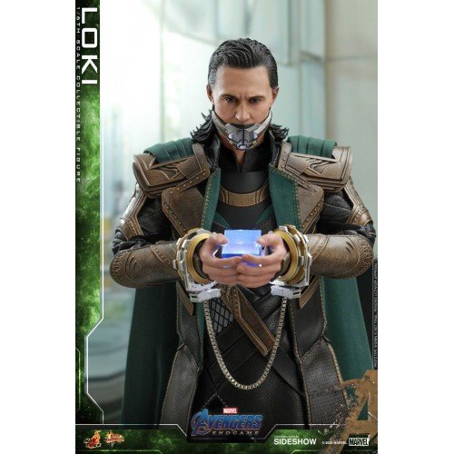 Avengers: Endgame Movie Action Figure 1/6 Loki 31 cm Hot Toys - 10