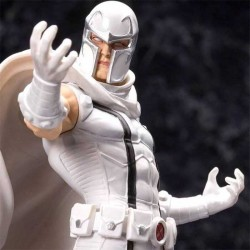 Marvel Comics Exclusive White Magneto Statue 1/10 20cm Kotobukiya - 1