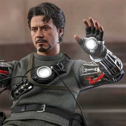 Iron Man Movie Masterpiece Action Figure 1/6 Tony Stark (Mech Test Deluxe Version) 30 cm Hot Toys - 1