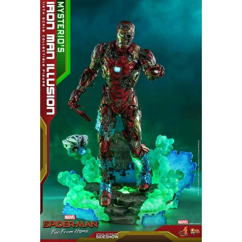 Spider-Man: Far From Home MMS PVC Action Figure 1/6 Mysterio's Iron Man Illusion 32 cm Hot Toys - 3