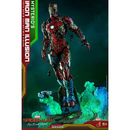 Spider-Man: Far From Home MMS PVC Action Figure 1/6 Mysterio's Iron Man Illusion 32 cm Hot Toys - 4