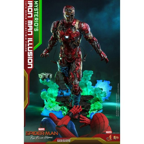 Spider-Man: Far From Home MMS PVC Action Figure 1/6 Mysterio's Iron Man Illusion 32 cm Hot Toys - 5