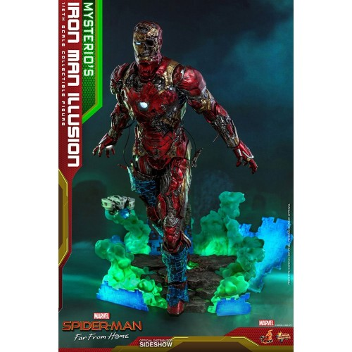 Spider-Man: Far From Home MMS PVC Action Figure 1/6 Mysterio's Iron Man Illusion 32 cm Hot Toys - 6
