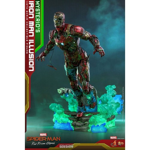 Spider-Man: Far From Home MMS PVC Action Figure 1/6 Mysterio's Iron Man Illusion 32 cm Hot Toys - 7