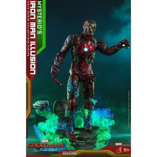 Spider-Man: Far From Home MMS PVC Action Figure 1/6 Mysterio's Iron Man Illusion 32 cm Hot Toys - 8