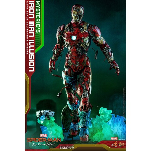 Spider-Man: Far From Home MMS PVC Action Figure 1/6 Mysterio's Iron Man Illusion 32 cm Hot Toys - 9