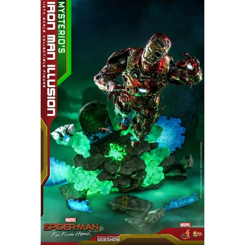 Spider-Man: Far From Home MMS PVC Action Figure 1/6 Mysterio's Iron Man Illusion 32 cm Hot Toys - 10