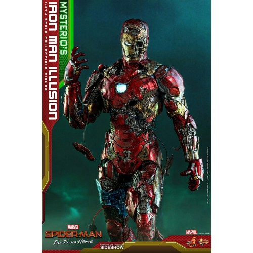 Spider-Man: Far From Home MMS PVC Action Figure 1/6 Mysterio's Iron Man Illusion 32 cm Hot Toys - 12