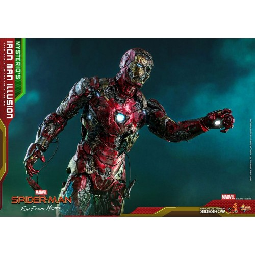 Spider-Man: Far From Home MMS PVC Action Figure 1/6 Mysterio's Iron Man Illusion 32 cm Hot Toys - 14