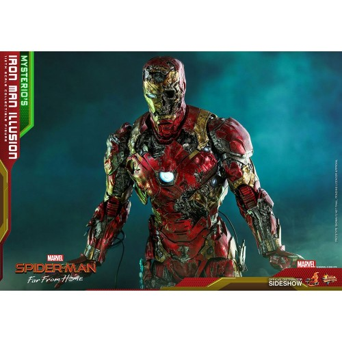 Spider-Man: Far From Home MMS PVC Action Figure 1/6 Mysterio's Iron Man Illusion 32 cm Hot Toys - 15