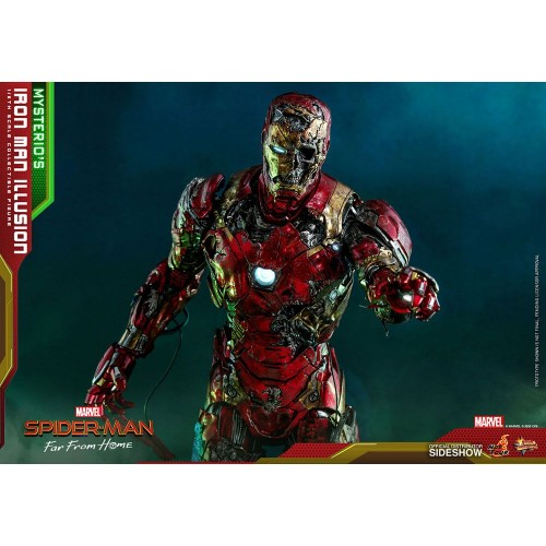 Spider-Man: Far From Home MMS PVC Action Figure 1/6 Mysterio's Iron Man Illusion 32 cm Hot Toys - 16