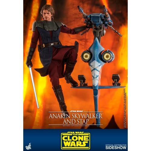 Star Wars The Clone Wars Action Figure 1/6 Anakin Skywalker & STAP 31 cm Hot Toys - 5