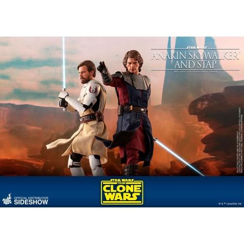 Star Wars The Clone Wars Action Figure 1/6 Anakin Skywalker & STAP 31 cm Hot Toys - 15