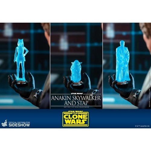 Star Wars The Clone Wars Action Figure 1/6 Anakin Skywalker & STAP 31 cm Hot Toys - 17