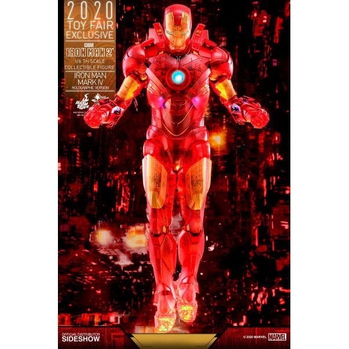 Iron Man 2 MM Action Figure 1/6 Iron Man Mark IV (Holographic Version) 2020 Toy Fair Exclusive 30 cm Hot Toys - 4
