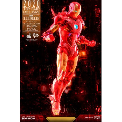 Iron Man 2 MM Action Figure 1/6 Iron Man Mark IV (Holographic Version) 2020 Toy Fair Exclusive 30 cm Hot Toys - 5