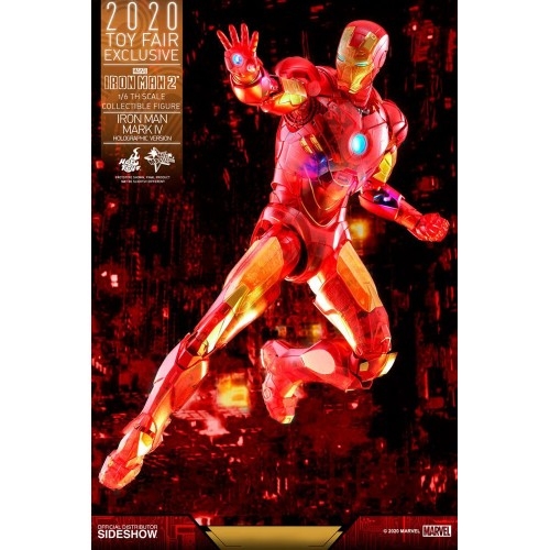 Iron Man 2 MM Action Figure 1/6 Iron Man Mark IV (Holographic Version) 2020 Toy Fair Exclusive 30 cm Hot Toys - 6