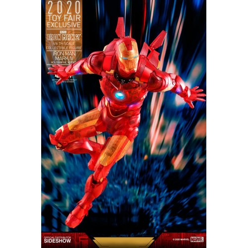 Iron Man 2 MM Action Figure 1/6 Iron Man Mark IV (Holographic Version) 2020 Toy Fair Exclusive 30 cm Hot Toys - 7