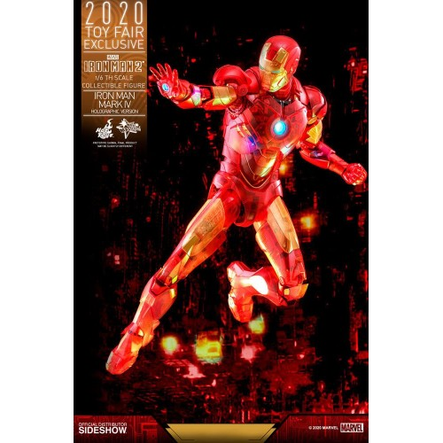 Iron Man 2 MM Action Figure 1/6 Iron Man Mark IV (Holographic Version) 2020 Toy Fair Exclusive 30 cm Hot Toys - 8
