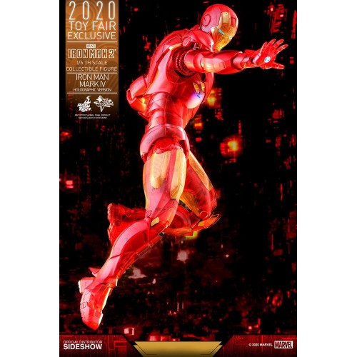 Iron Man 2 MM Action Figure 1/6 Iron Man Mark IV (Holographic Version) 2020 Toy Fair Exclusive 30 cm Hot Toys - 9