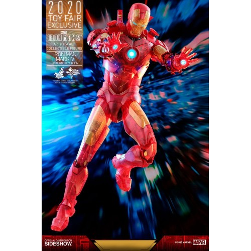 Iron Man 2 MM Action Figure 1/6 Iron Man Mark IV (Holographic Version) 2020 Toy Fair Exclusive 30 cm Hot Toys - 10