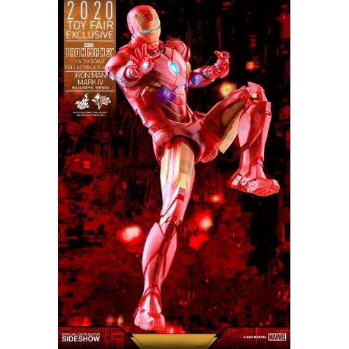 Iron Man 2 MM Action Figure 1/6 Iron Man Mark IV (Holographic Version) 2020 Toy Fair Exclusive 30 cm Hot Toys - 11