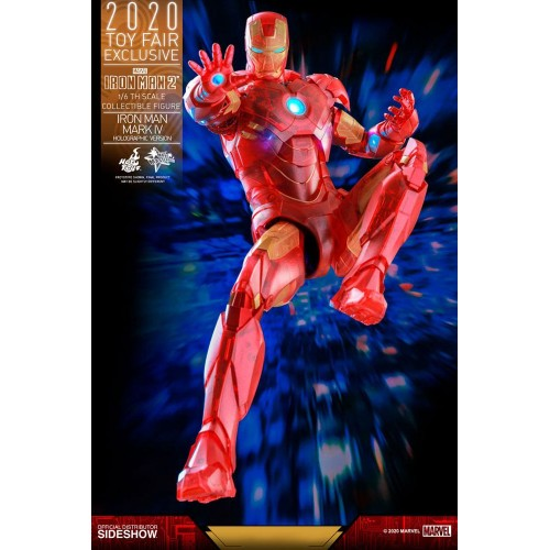 Iron Man 2 MM Action Figure 1/6 Iron Man Mark IV (Holographic Version) 2020 Toy Fair Exclusive 30 cm Hot Toys - 12