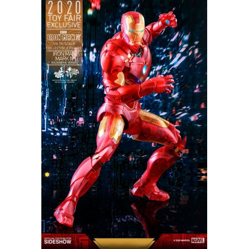 Iron Man 2 MM Action Figure 1/6 Iron Man Mark IV (Holographic Version) 2020 Toy Fair Exclusive 30 cm Hot Toys - 13