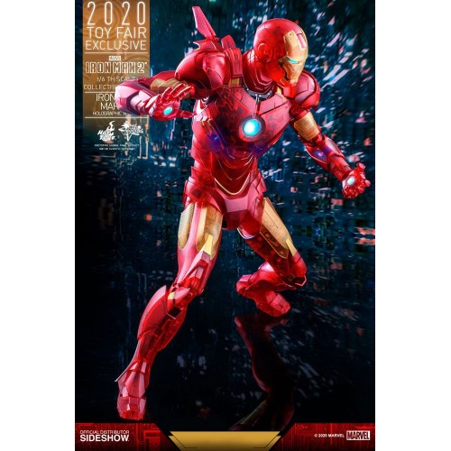 Iron Man 2 MM Action Figure 1/6 Iron Man Mark IV (Holographic Version) 2020 Toy Fair Exclusive 30 cm Hot Toys - 14