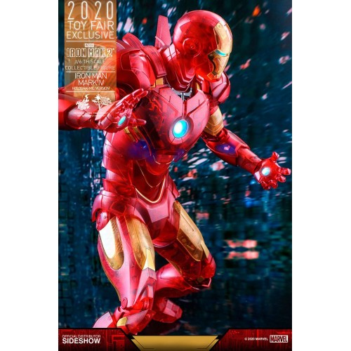 Iron Man 2 MM Action Figure 1/6 Iron Man Mark IV (Holographic Version) 2020 Toy Fair Exclusive 30 cm Hot Toys - 15
