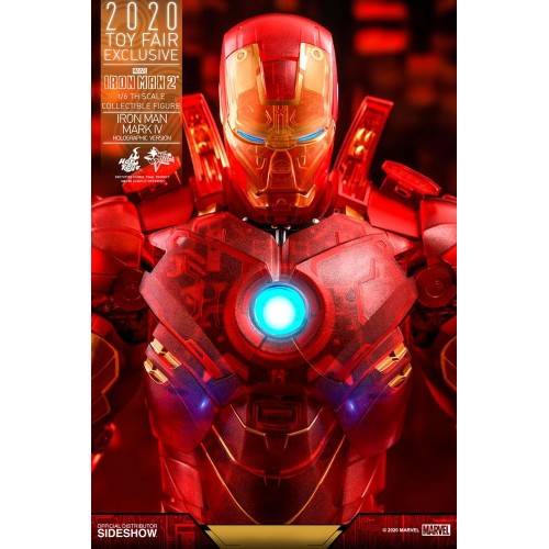Iron Man 2 MM Action Figure 1/6 Iron Man Mark IV (Holographic Version) 2020 Toy Fair Exclusive 30 cm Hot Toys - 16