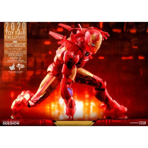 Iron Man 2 MM Action Figure 1/6 Iron Man Mark IV (Holographic Version) 2020 Toy Fair Exclusive 30 cm Hot Toys - 17