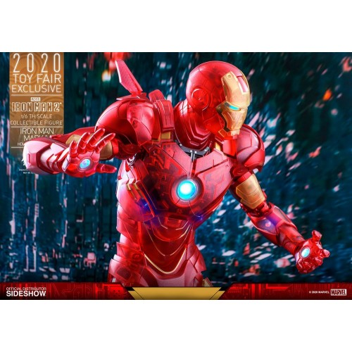 Iron Man 2 MM Action Figure 1/6 Iron Man Mark IV (Holographic Version) 2020 Toy Fair Exclusive 30 cm Hot Toys - 18