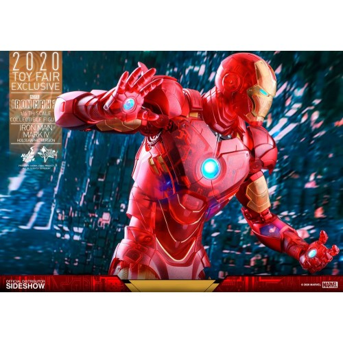 Iron Man 2 MM Action Figure 1/6 Iron Man Mark IV (Holographic Version) 2020 Toy Fair Exclusive 30 cm Hot Toys - 19