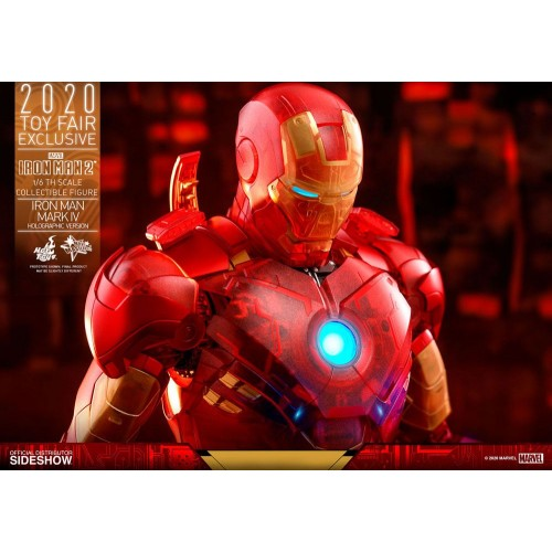 Iron Man 2 MM Action Figure 1/6 Iron Man Mark IV (Holographic Version) 2020 Toy Fair Exclusive 30 cm Hot Toys - 20